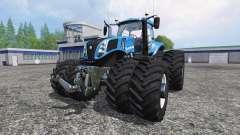 New Holland T8.320 Dynamic8 v1.1 blue para Farming Simulator 2015