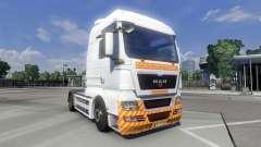 Pele Schwertransport no caminhão HOMEM para Euro Truck Simulator 2