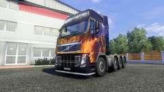 Volvo FH16 8x4 v2.0 super control para Euro Truck Simulator 2