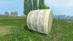 Novas texturas de fardos de feno