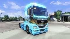 Pele Showtruck Paisagem no caminhão HOMEM para Euro Truck Simulator 2