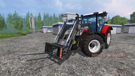 Steyr Profi 4130 CVT v1.1 fix para Farming Simulator 2015