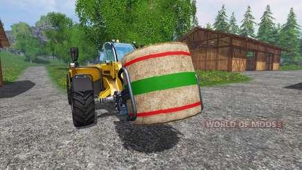 Novas texturas fardos de palha para Farming Simulator 2015