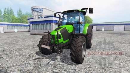 Deutz-Fahr 5120 TTV v2.0 para Farming Simulator 2015