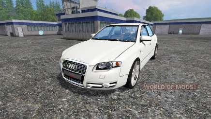 Audi A4 (B7) Quattro 3.0 TDI para Farming Simulator 2015