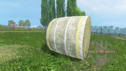 Novas texturas de fardos de feno para Farming Simulator 2015