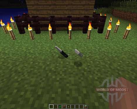 Call of Duty Knives [1.6.2] para Minecraft