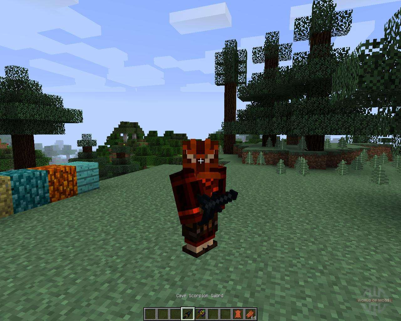 мод майнкрафт 1.7.10 mo creatures v6.2.0
