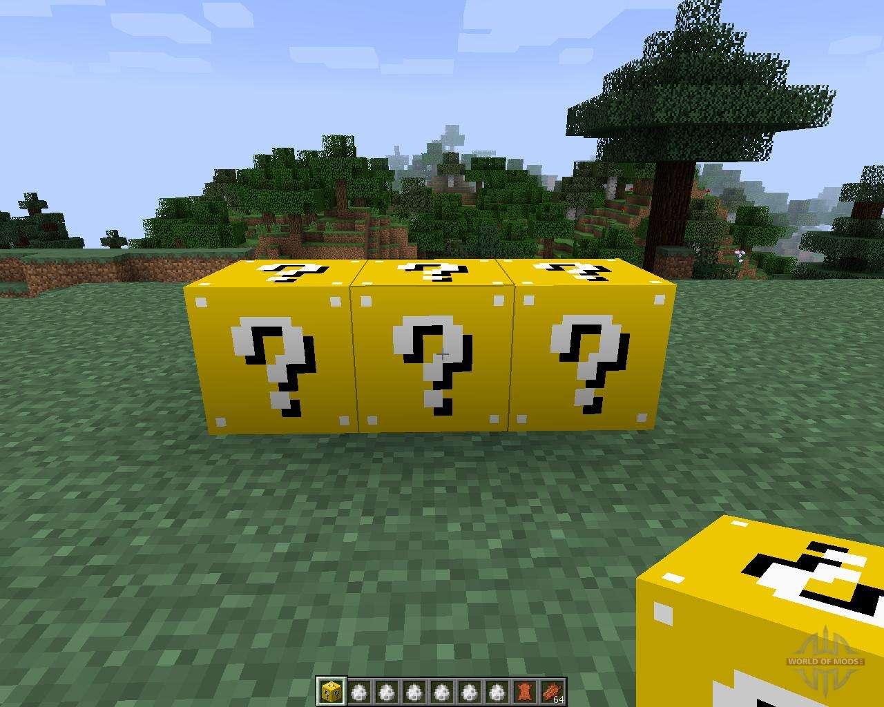 лаки блоки в майнкрафт 1 5 2