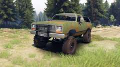 Dodge Ramcharger 1985 v1.0 para Spin Tires