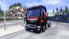 A pele do Homem De Aço no caminhão HOMEM para Euro Truck Simulator 2