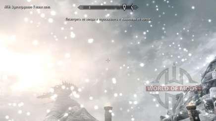 Congele - a salvação no acampamento [2.6] para Skyrim