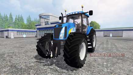 New Holland T8040 v4.1 para Farming Simulator 2015