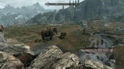 Realista animais e predadores [1.38] para Skyrim