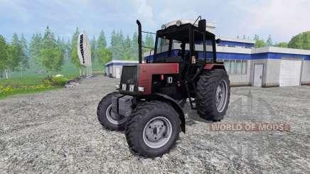 MTZ-Bielorrússia 1025 v2.0 [red] para Farming Simulator 2015