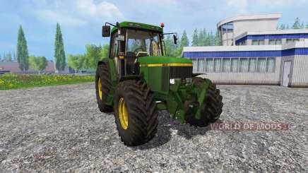 John Deere 6800 FL dirt para Farming Simulator 2015