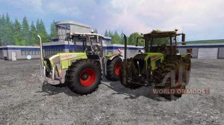 CLAAS Xerion 3800 Trac VC [clean and dirty] para Farming Simulator 2015