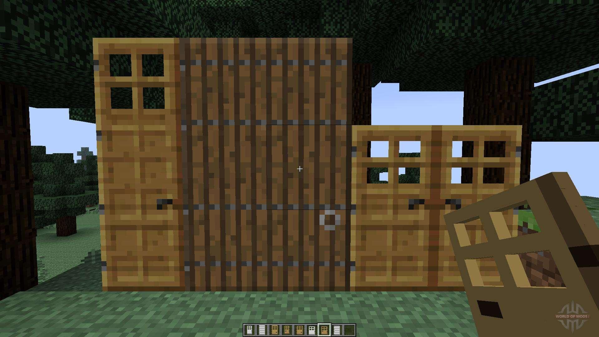 мод на двери в майнкрафт 1.7.10 #6