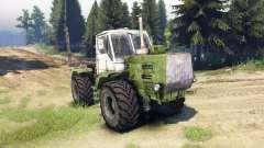 T-150K madeira para Spin Tires