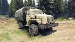 Ural-43206 é um 4x4 para Spin Tires