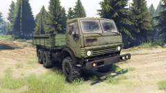 KamAZ-43101 para Spin Tires