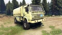 KamAZ-4911 esportes radicais para Spin Tires