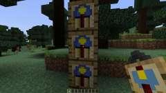 Wall Clock [1.7.10] para Minecraft