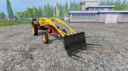 Fortschritt GT 124 frontlader fix para Farming Simulator 2015