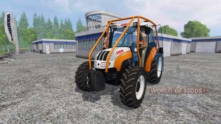 Steyr Kompakt 4095 forest para Farming Simulator 2015