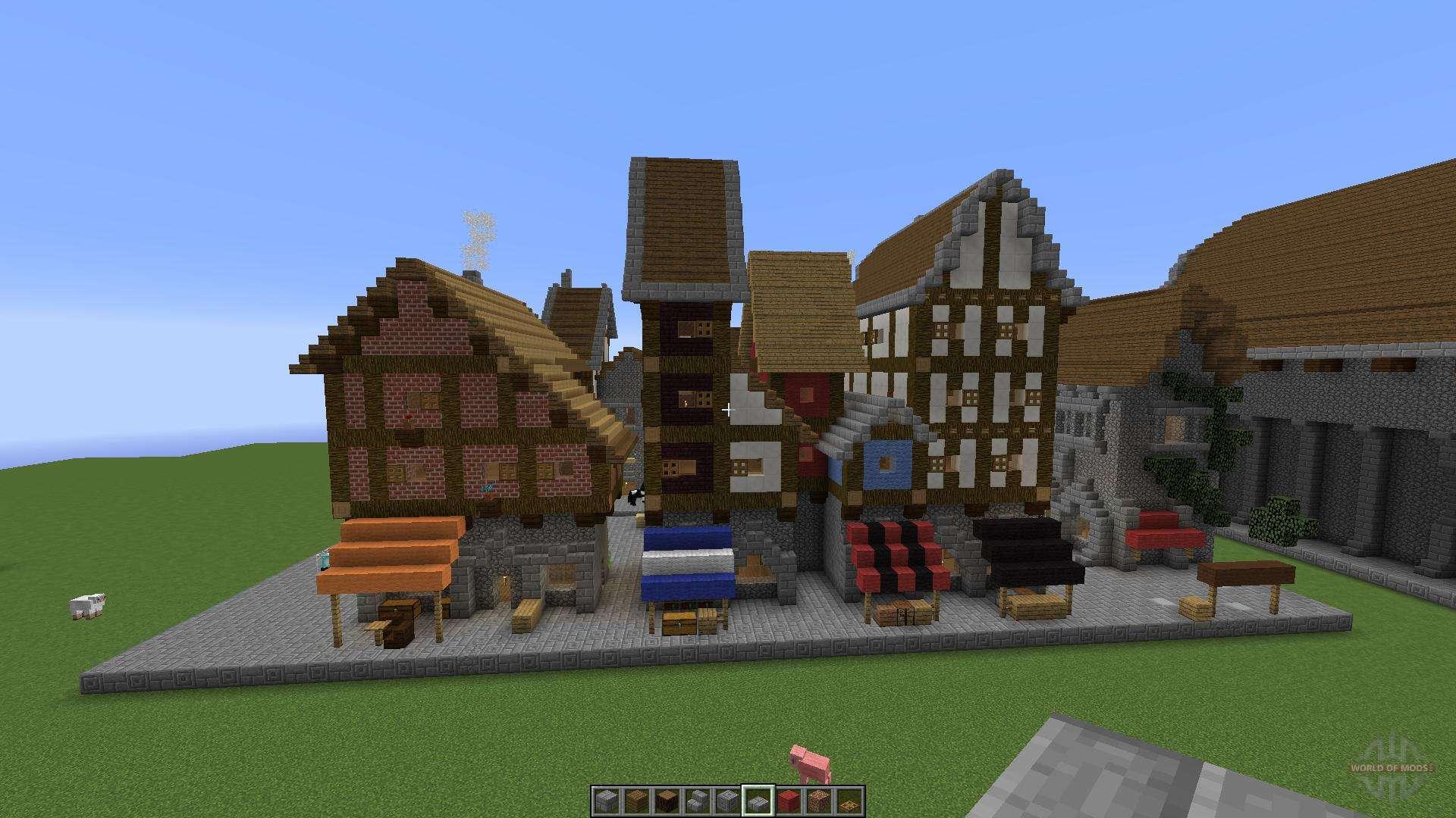 Medieval building pack para Minecraft