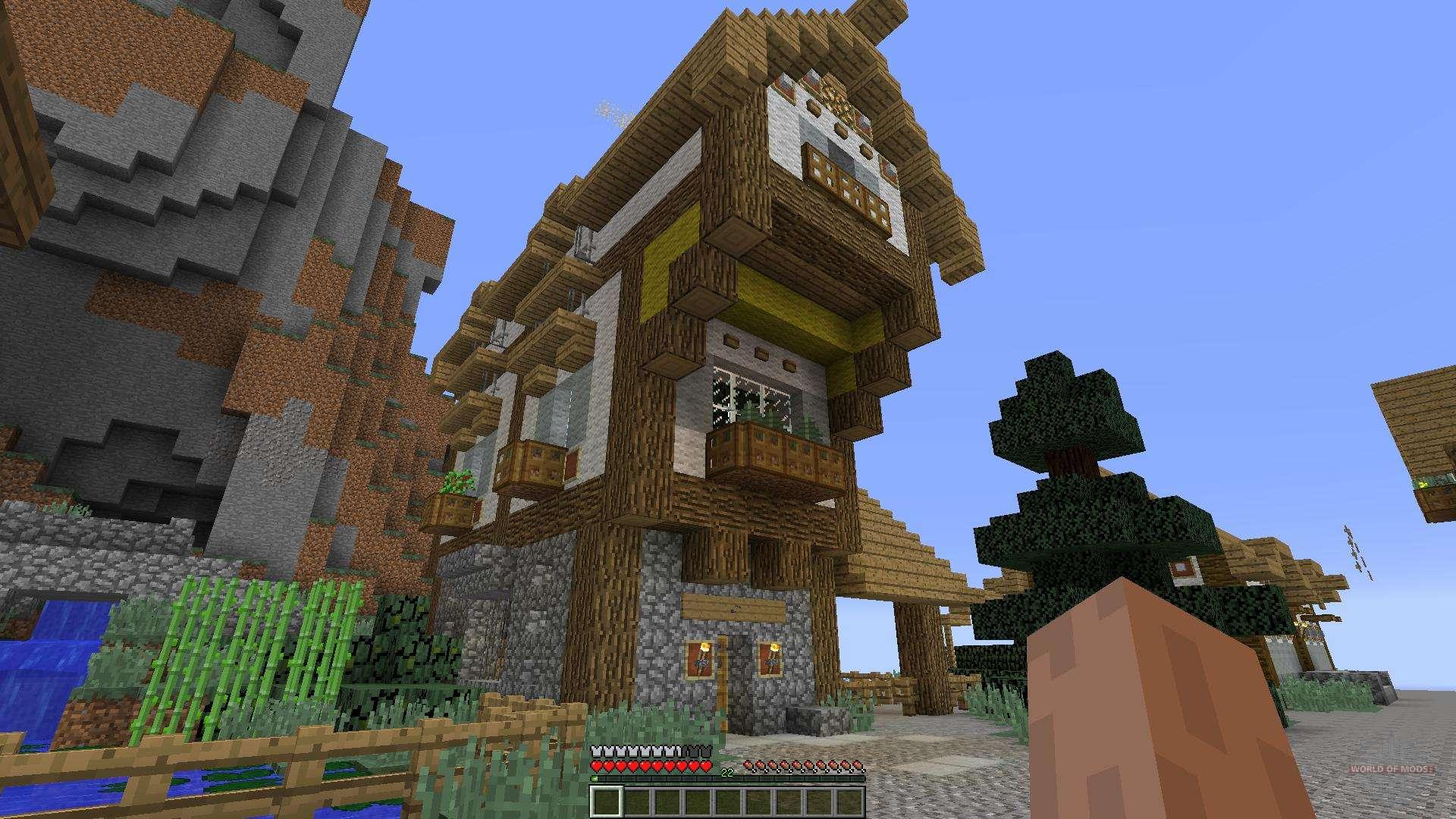 Medieval Fantasy Building Pack 10 Minecraft para Minecraft