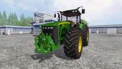 John Deere 8530 v5.0 para Farming Simulator 2015