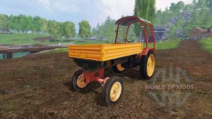 Fortschritt GT 124 with roof para Farming Simulator 2015