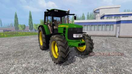 John Deere 6330 Premium v2.0 para Farming Simulator 2015