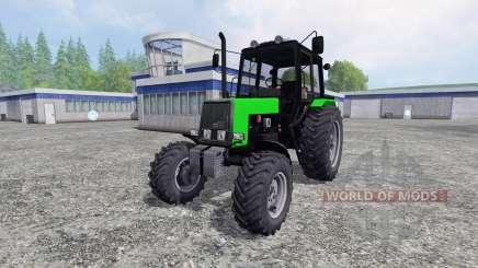 MTZ-Bielorrússia 1025 amarelo e verde para Farming Simulator 2015