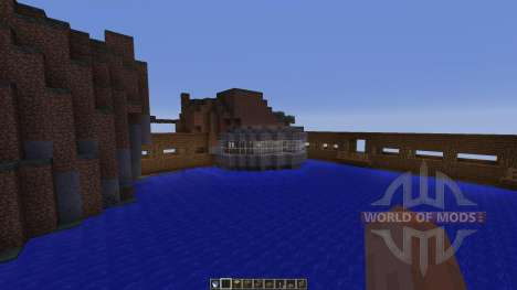 Dam Bridge Tunnel Experiments para Minecraft