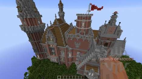 Menock Castle para Minecraft