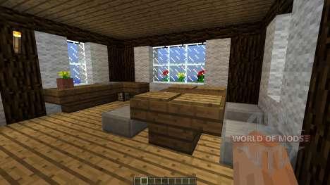 Medieval House map para Minecraft