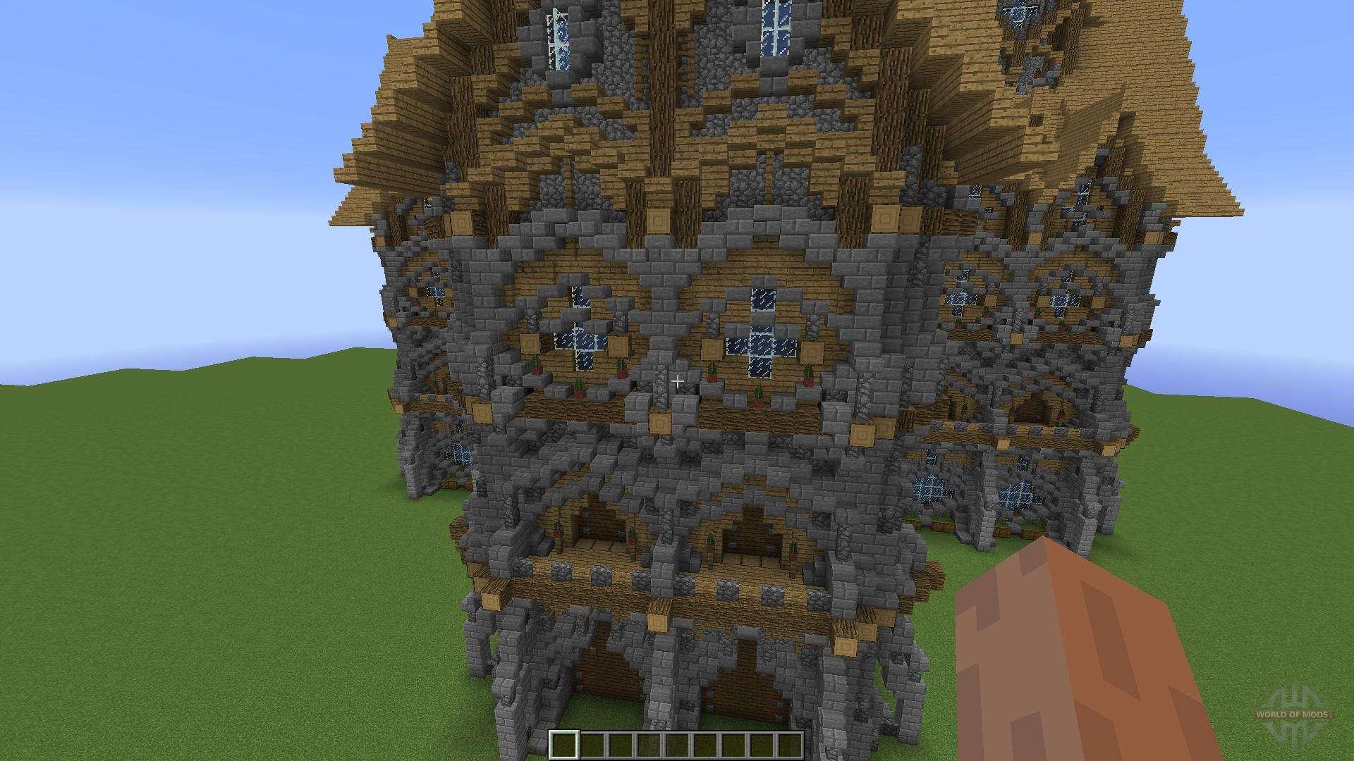 Big Medieval House para Minecraft