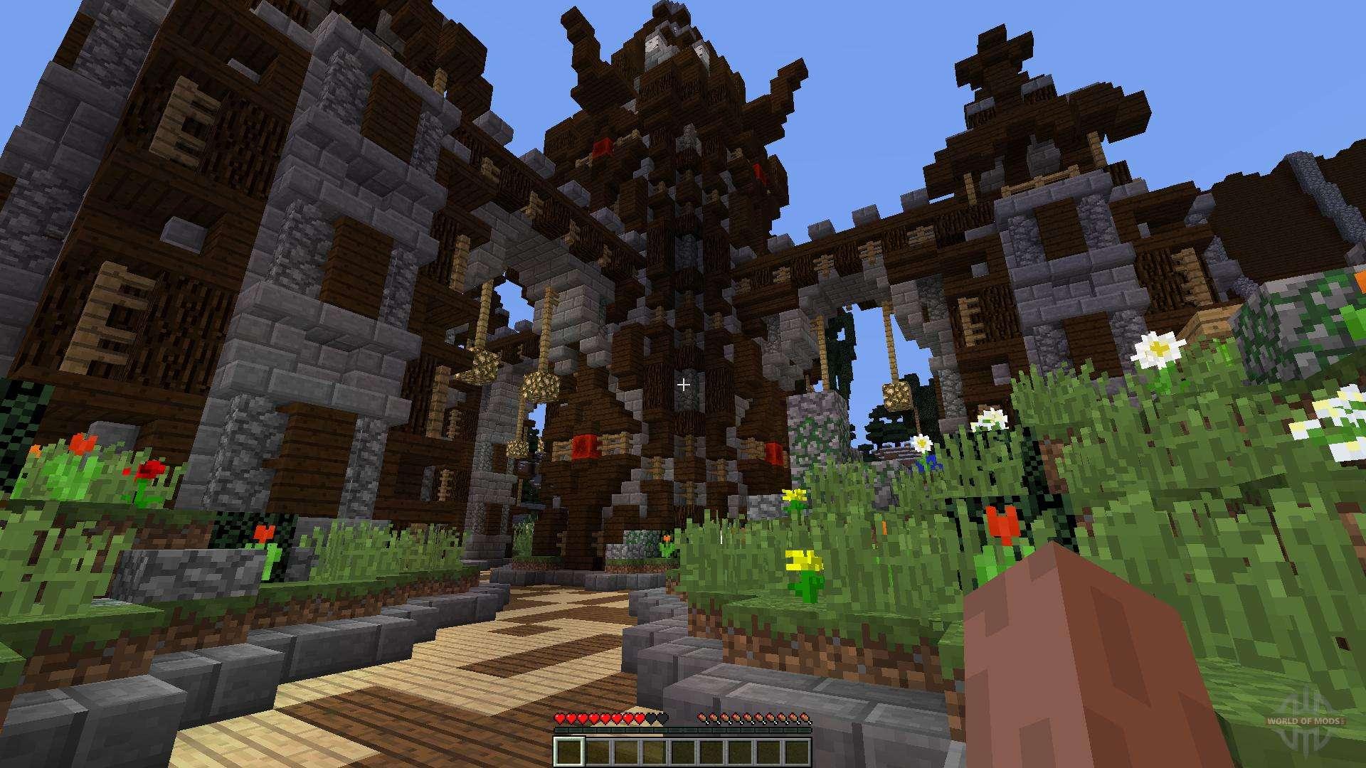 faction lobby para minecraft