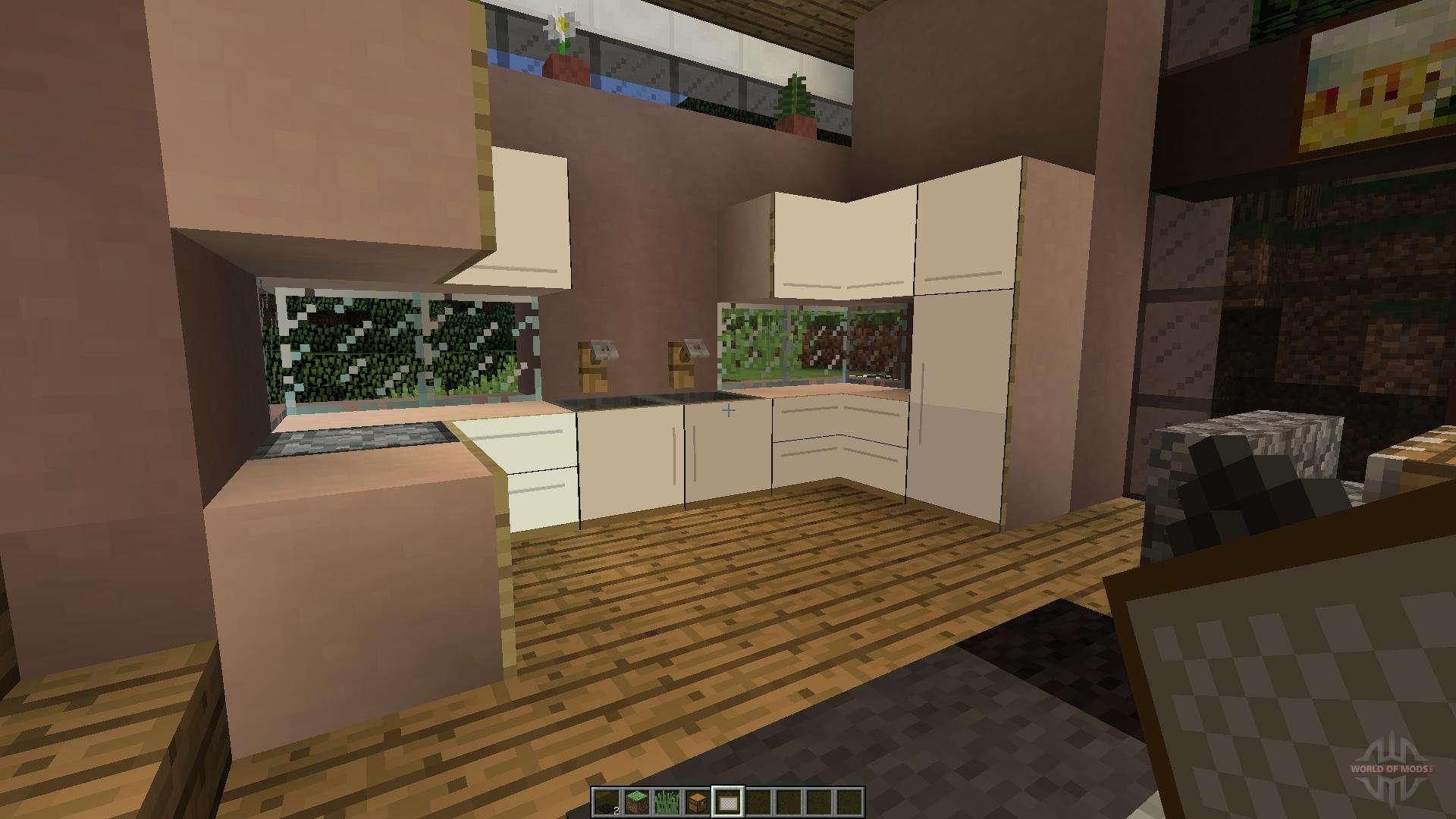 Cozinha Moderna Minecraft Resimden Com