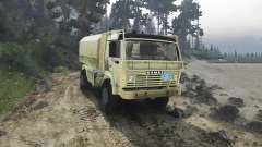 KamAZ 4911 Rally Extreme para Spin Tires