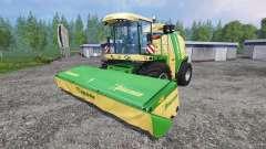 Krone Big X 1100 [original colors] para Farming Simulator 2015