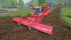 Grimme Tectron 415 [onion and carrot]