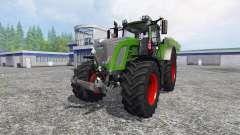 Fendt 936 Vario SCR com o contrapeso para Farming Simulator 2015