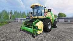 Krone Big X 1100 v1.1 para Farming Simulator 2015