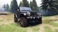 Jeep Wrangler black para Spin Tires