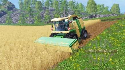 Krone Big X 1100 [128000 liters] para Farming Simulator 2015