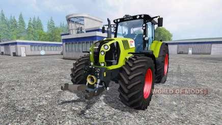 CLAAS Arion 650 v2.5 para Farming Simulator 2015