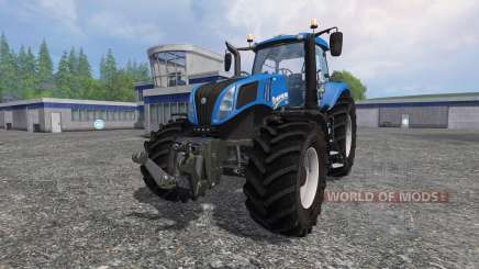 New Holland T8.320 v2.4 para Farming Simulator 2015